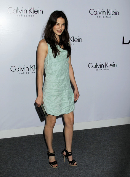 Michelle Monaghan Strappy Sandals []