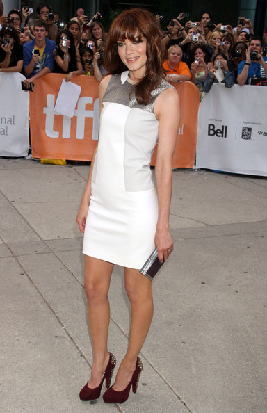 Michelle Monaghan Studded Heels []