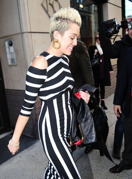 More Pics of Miley Cyrus Maxi Dress (1 of 5) - Miley Cyrus Lookbook - StyleBistro