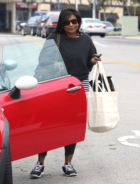 More Pics of Mindy Kaling Boatneck Sweater (1 of 14) - Tops Lookbook - StyleBistro []
