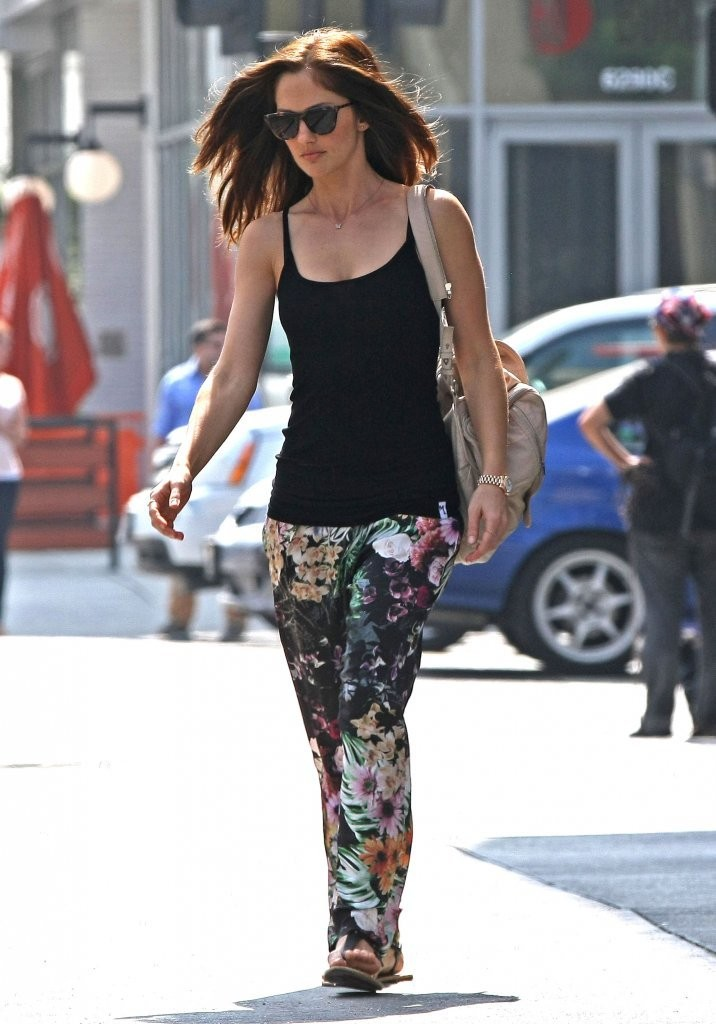 Minka Kelly Runs Errands in LA