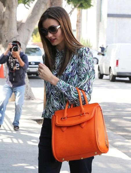 More Pics of Miranda Kerr Leather Tote (3 of 12) - Leather Tote Lookbook - StyleBistro