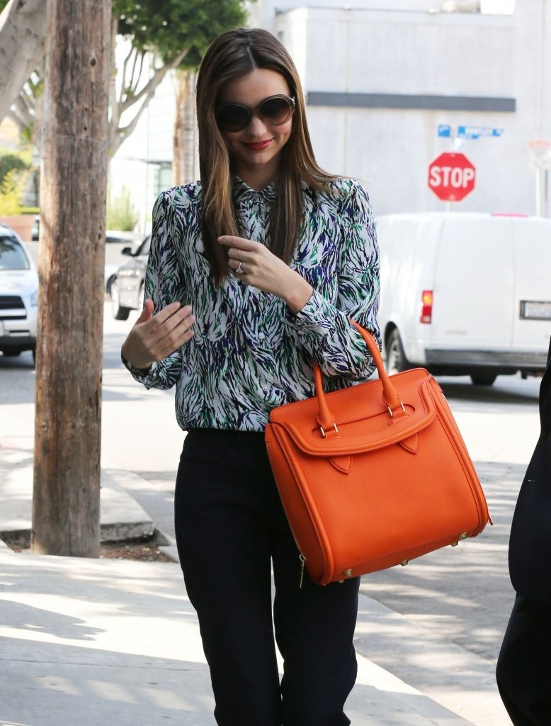 Miranda Kerr Heads to a Meeting in Hollywood