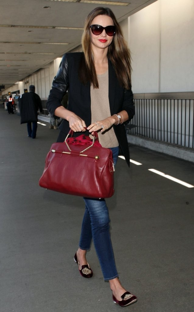 Miranda Kerr Leaves LA
