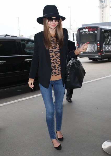 More Pics of Miranda Kerr Blazer (5 of 20) - Miranda Kerr Lookbook - StyleBistro