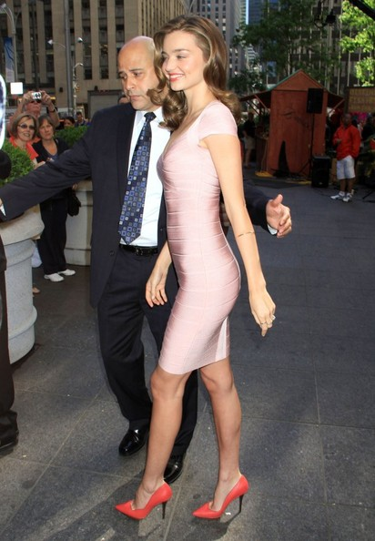 More Pics of Miranda Kerr Bandage Dress (1 of 12) - Miranda Kerr Lookbook - StyleBistro