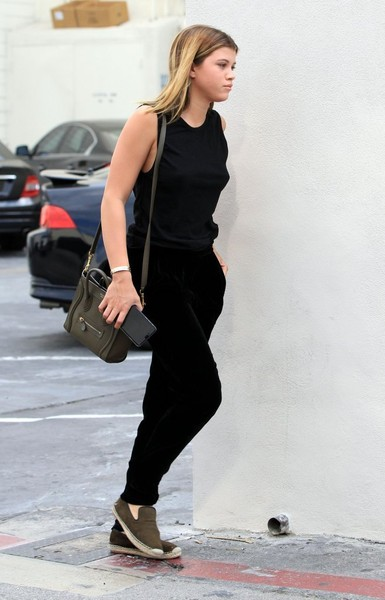 More Pics of Sofia Richie Tank Top (1 of 5) - Tops Lookbook - StyleBistro