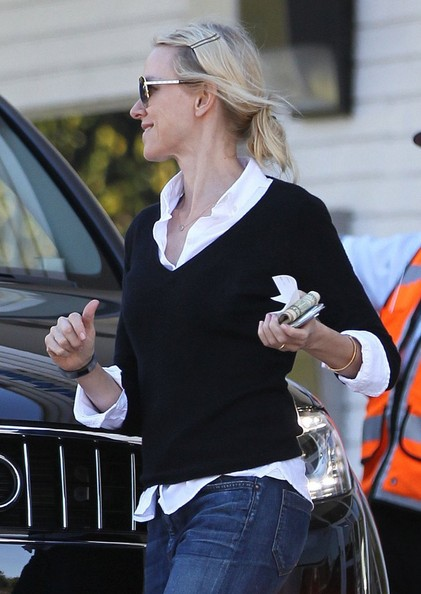 More Pics of Naomi Watts Boyfriend Jeans (1 of 31) - Naomi Watts Lookbook - StyleBistro