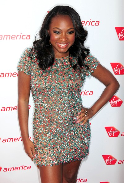 Naturi Naughton Long Curls