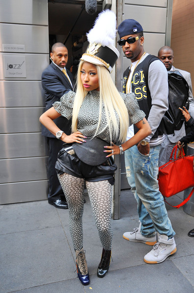 More Pics of Nicki Minaj Lace Up Boots (1 of 5) - Nicki Minaj Lookbook - StyleBistro