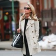 Nicky Hilton's Classic Trench and Converse Sneakers