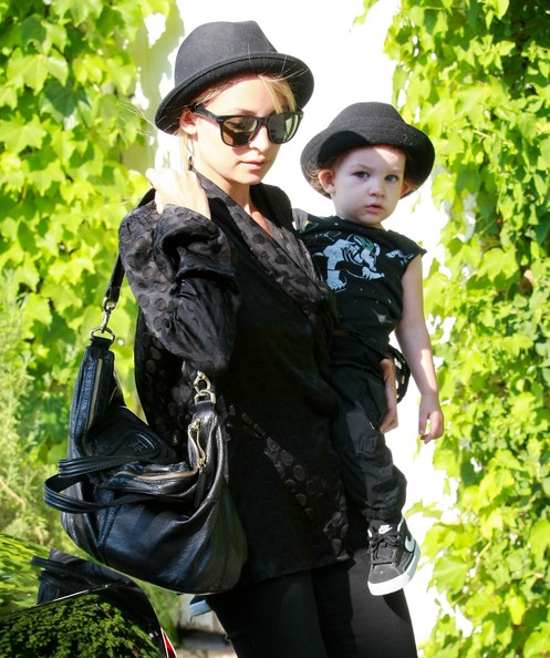 Nicole Richie Leather Shoulder Bag