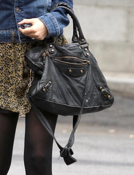 Nicole Richie Studded Shoulder Bag