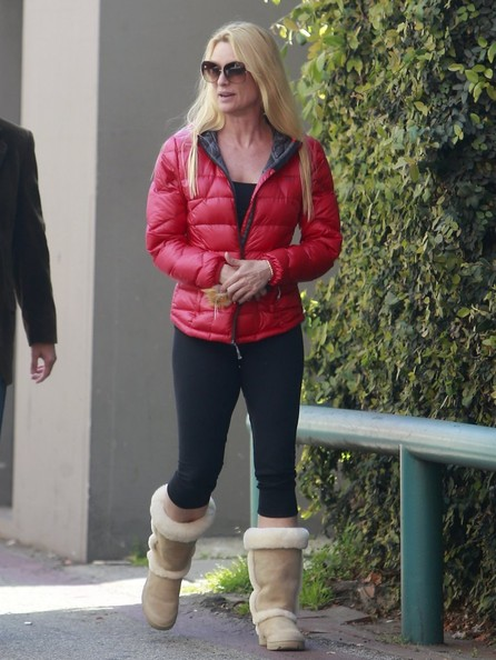 Nicollette Sheridan Leggings