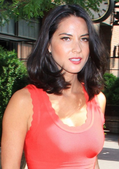 More Pics of Olivia Munn Day Dress (1 of 8) - Olivia Munn Lookbook - StyleBistro