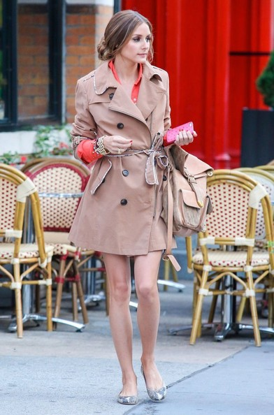 Olivia Palermo Tweed Jacket February 2017