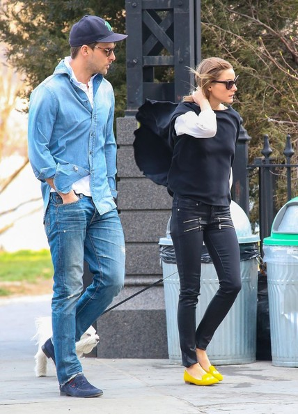 More Pics of Olivia Palermo Smoking Slippers (1 of 12) - Olivia Palermo Lookbook - StyleBistro