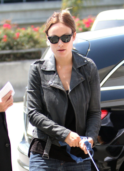 More Pics of Olivia Wilde Leather Jacket (1 of 11) - Olivia Wilde Lookbook - StyleBistro