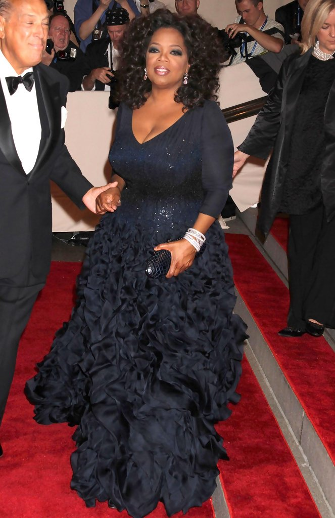 Oprah Winfrey Empire Gown - Oprah Winfrey Dresses & Skirts Looks ...