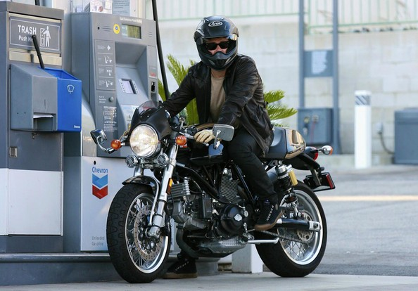 Orlando Bloom Motorcycle Helmet