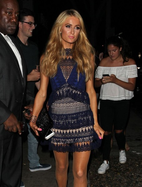 Paris Hilton Beaded Clutch
