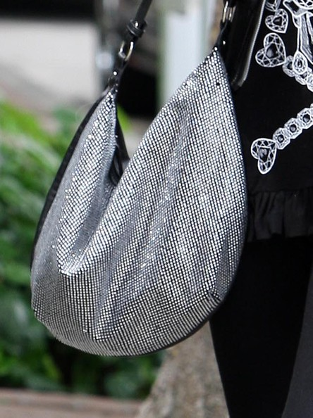 More Pics of Paris Hilton Studded Hobo Bag (1 of 13) - Studded Hobo Bag Lookbook - StyleBistro