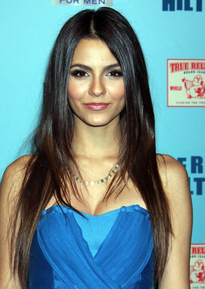 More Pics of Victoria Justice Long Straight Cut (2 of 3) - Long Hairstyles Lookbook - StyleBistro []