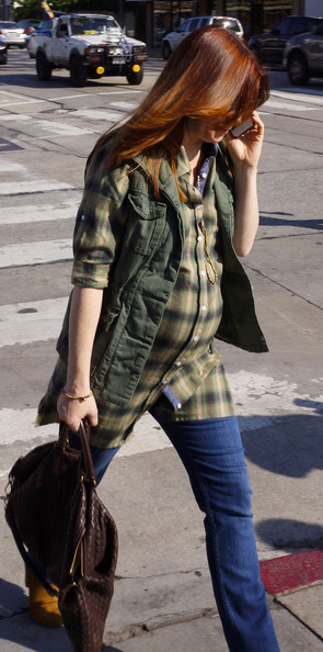 More Pics of Alyson Hannigan Vest (1 of 5) - Vest Lookbook - StyleBistro
