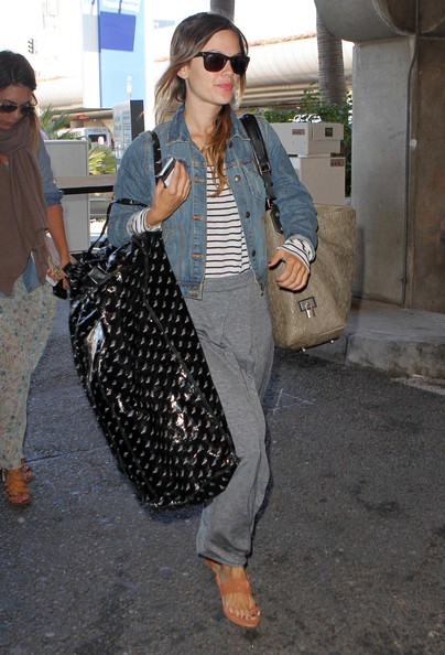 More Pics of Rachel Bilson Leather Tote (1 of 23) - Rachel Bilson Lookbook - StyleBistro