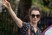 Rachel Weisz Rectangular Sunglasses