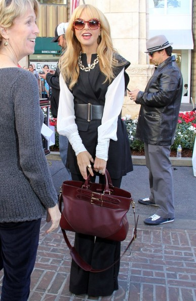 More Pics of Rachel Zoe Leather Shoulder Bag (1 of 44) - Leather Shoulder Bag Lookbook - StyleBistro