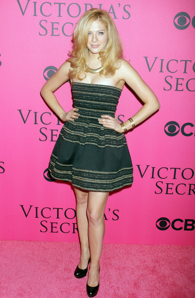 Rachelle Lefevre Strapless Dress