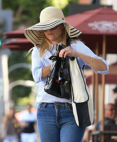 Reese Witherspoon Straw Hat