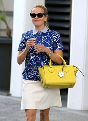 Reese Witherspoon was retro-chic on the streets of Beverly Hills wearing these Dior cateye sunnies.
