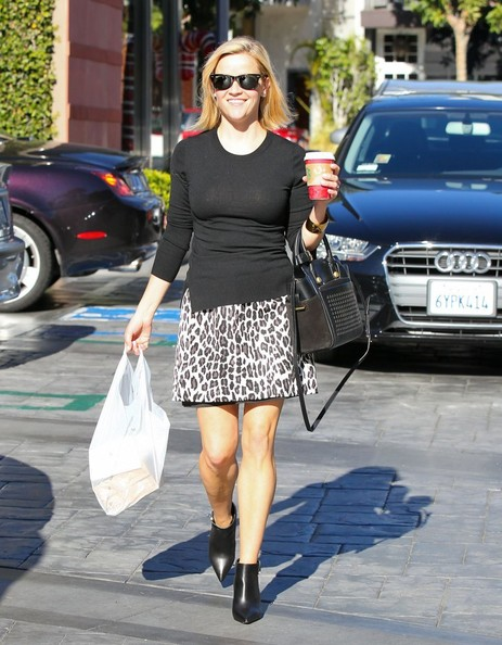 Reese Witherspoon Is All Smiles in West Hollywood