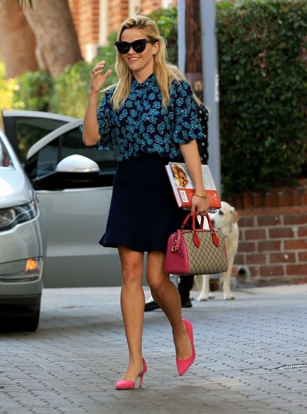 Reese Witherspoon Printed Tote