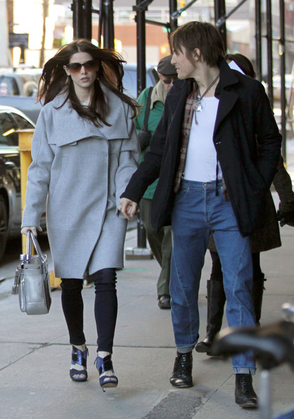 Ashley Greene And Reeve Carney Together in NYC