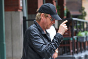 Rhys Ifans Leather Jacket