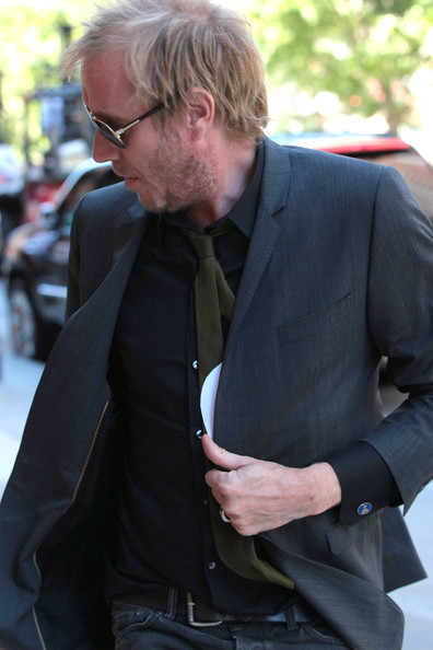More Pics of Rhys Ifans Classic Jeans (1 of 6) - Rhys Ifans Lookbook - StyleBistro