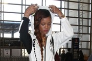 Singer Rihanna departing on a flight at LAX airport in Los Angeles, California on March 3, 2013.