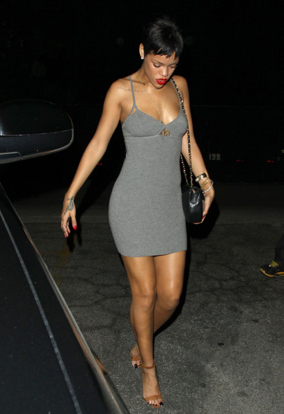 Rihanna Mini Dress