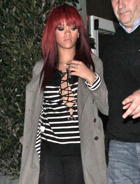 Rihanna in Rihanna Leaving The Cut In Beverly Hills