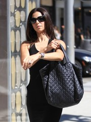 Roselyn Sanchez stepped out on a sunny day in Beverly Hills wearing a pair of rectangular shades.