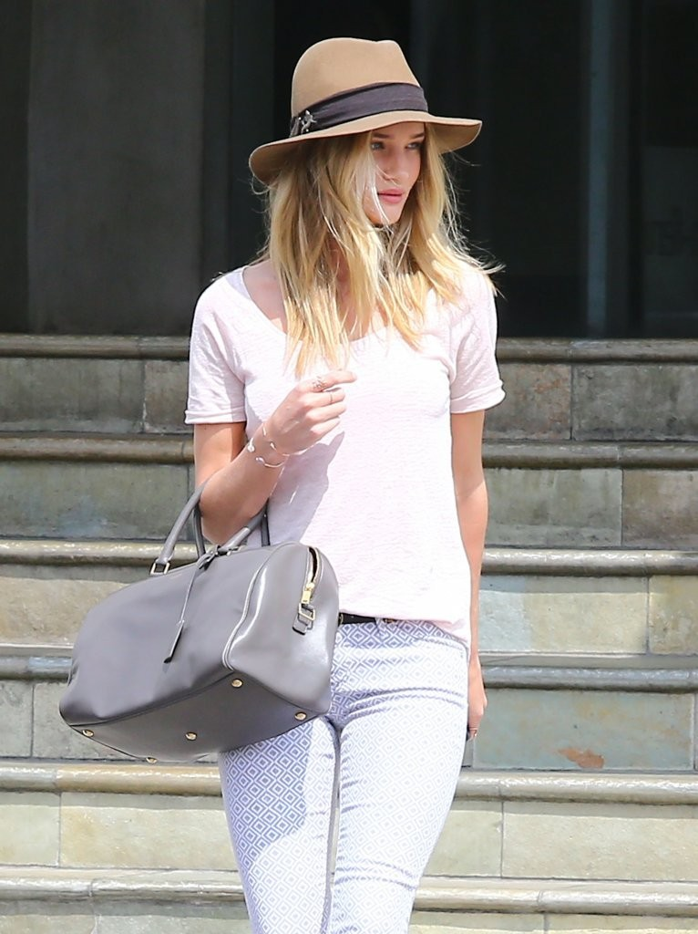 Rosie Huntington-Whiteley Shops At Lawson-Fenning