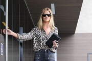 Rosie Huntington-Whiteley Print Blouse