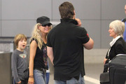 Russell Crowe and Danielle Spencer Photo