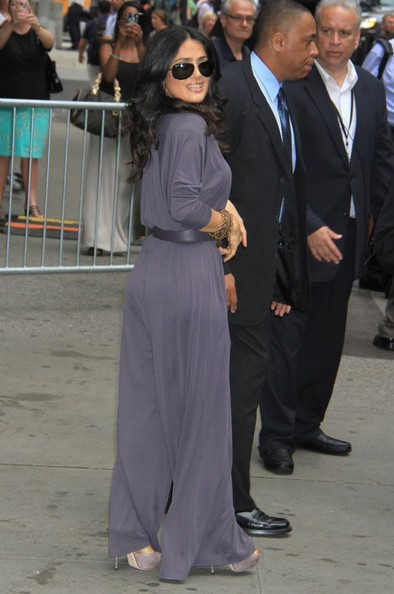 More Pics of Salma Hayek Jumpsuit (3 of 17) - Jumpsuit Lookbook - StyleBistro