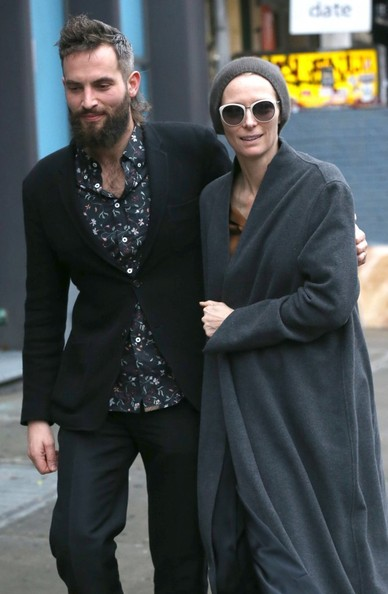 Tilda Swinton and Sandro Kopp Take a Stroll