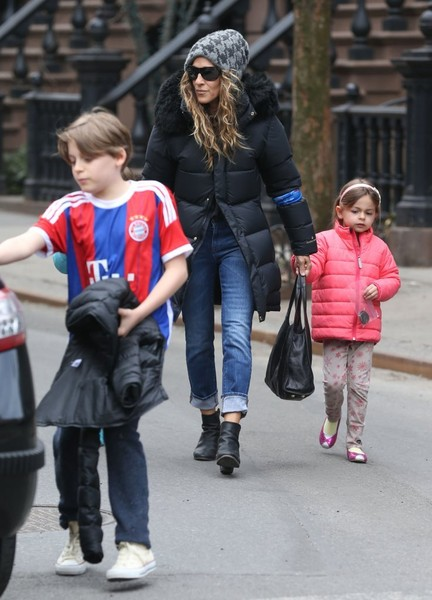 Sarah Jessica Parker Enjoys a Family Day
