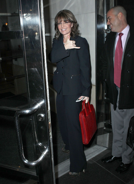 More Pics of Sarah Palin Leather Briefcase (1 of 12) - Leather Briefcase Lookbook - StyleBistro